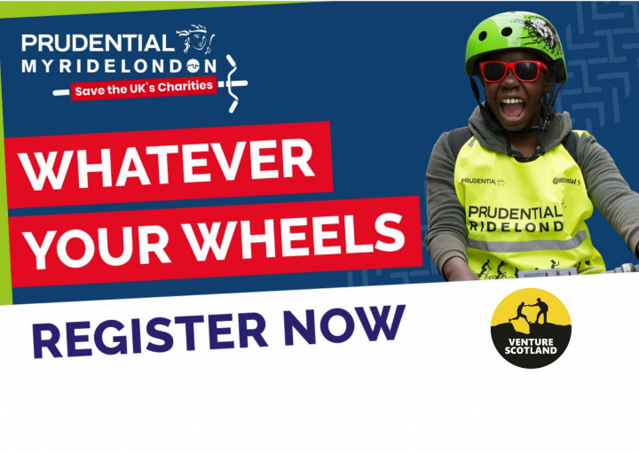 Prudential My RideLondon- Save the UK's Charities
