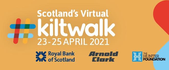 Scotland's Virtual Kiltwalk 2021